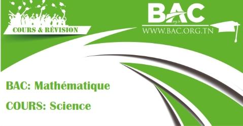 cours et rsums bac mathmatiques bac tunisie - Resume Cours Science Bac Math